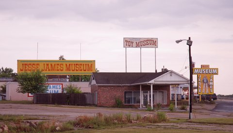 Le Jesse James Wax Museum de Stanton.