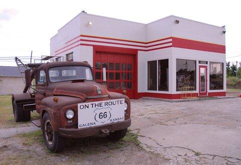 Le camion ayant inspiré Mater (Martin), la dépanneuse du film Cars.