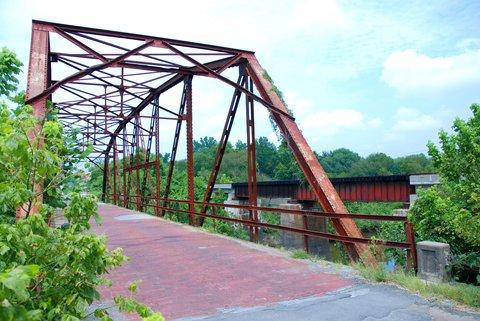 Le vieux pont sur la Rock Creek.