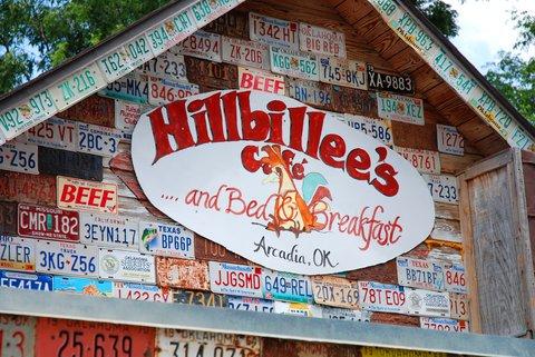 Hillbillee's Café (Arcadia, OK)