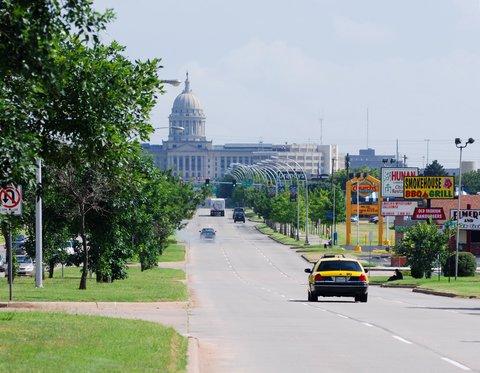 Le capitole d'Oklahoma City.