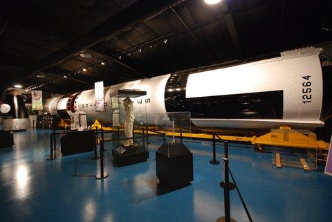 Fusée Titan II.