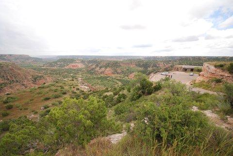 Le Palo Duro Canyon.