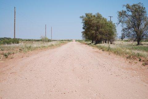 La Route 66 à Endee, Nouveau-Mexique.