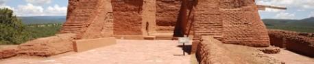 Les vestiges de la mission espagnole de Pecos