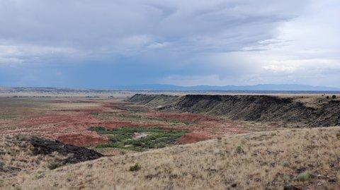 Les grands espaces du Nouveau-Mexique