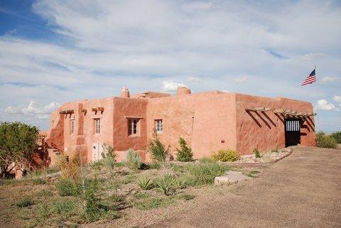 L'ancienne auberge du Painted Desert.