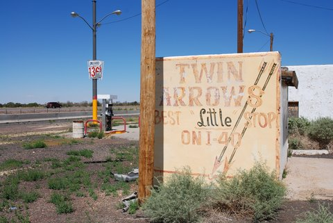 Twin Arrows en 2007.