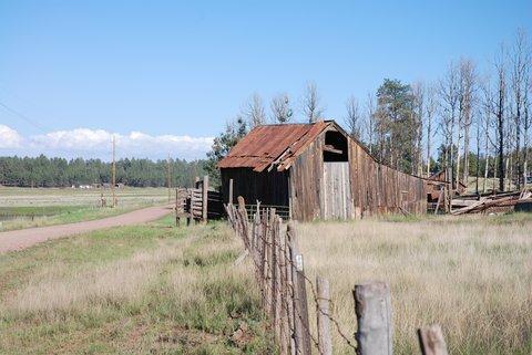 La Route 66 à l'ouest de Flagstaff.