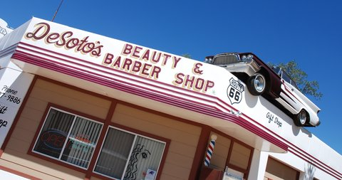 DeSoto Beauty & Barber Shop (Ash Fork).