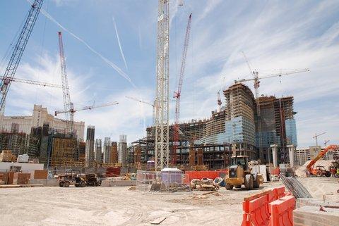 Las Vegas, chantier permanent.