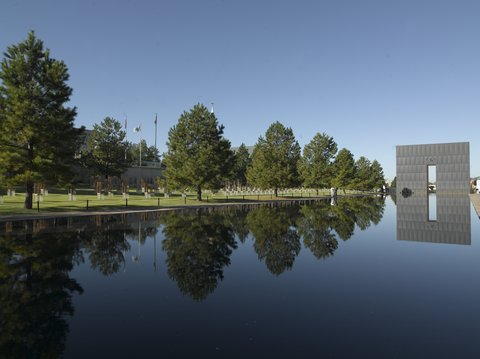 Oklahoma City Memorial (photo Carol Highsmith/Library of Congress)