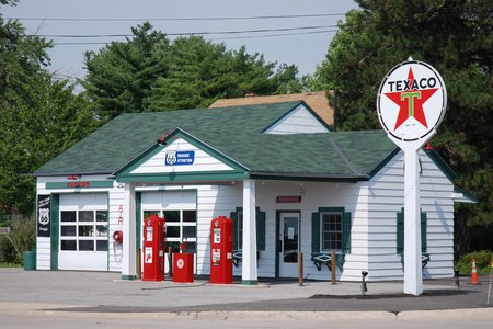 La station Ambler's Texaco de Dwight