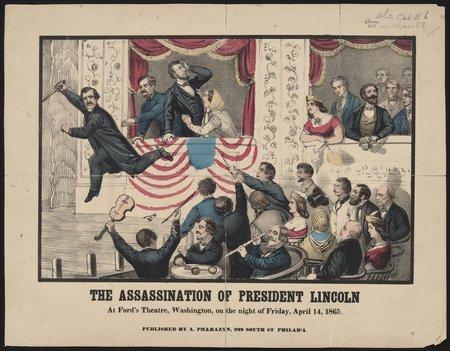 L'assassinat de Lincoln (© Bibliothèque du Congrès)