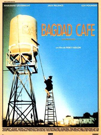 """L'affiche du film """"Bagdad Café""""."""