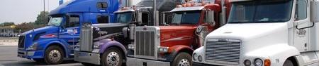Quelques gros camions américains !