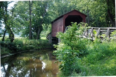 Le pont couvert de Sugar Creek