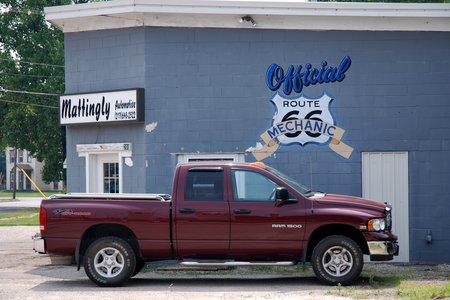 """""""Mécanicien officiel de la Route 66"""" !"""