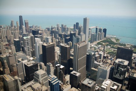 La Skyline de Chicago vue de la Willis Tower
