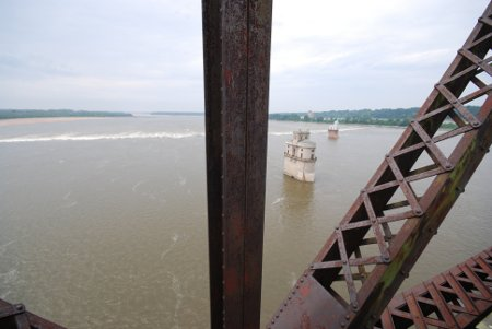 Les bâtiments techniques de la compagnie des eaux St.Louis Waterworks