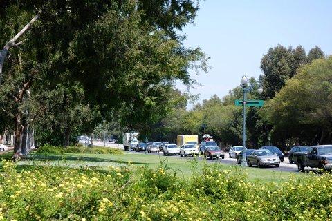Le Santa Monica Blvd à Beverly Hills.