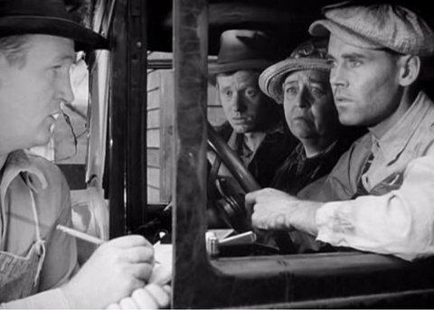"""""""Les Raisins de la Colère"""" de John Ford (1940), avec Jane Darwell et Henry Fonda."""