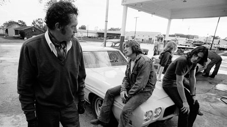 Warren Oates, Dennis Wilson et James Taylor