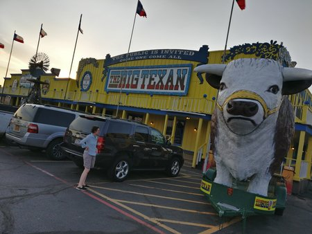 Le Big Texan à Amarillo