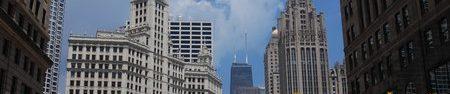 Le Wrigley Building à Chicago.