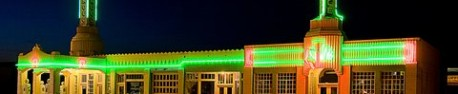 La U Drop Inn de Shamrock, Texas (photo CC Flickr/Gouldy99)